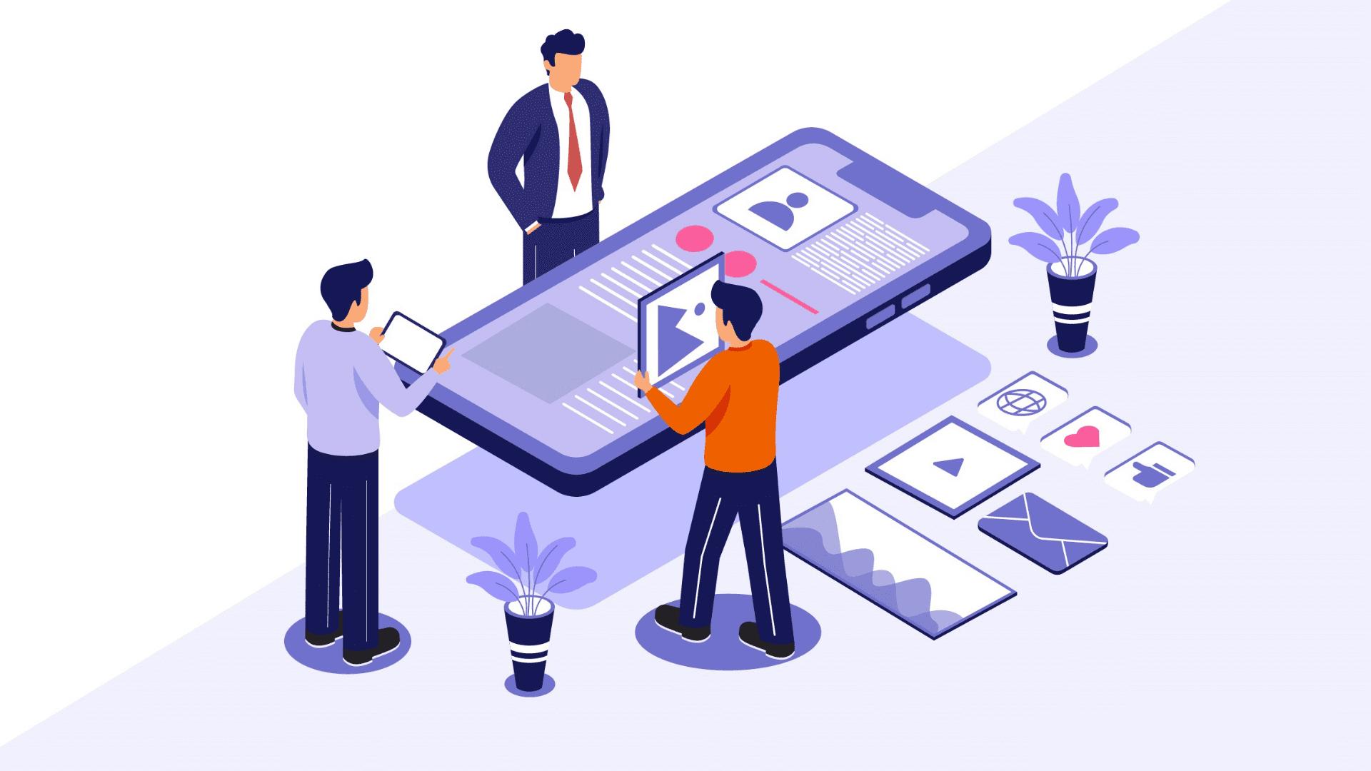 Develop a winning business app
