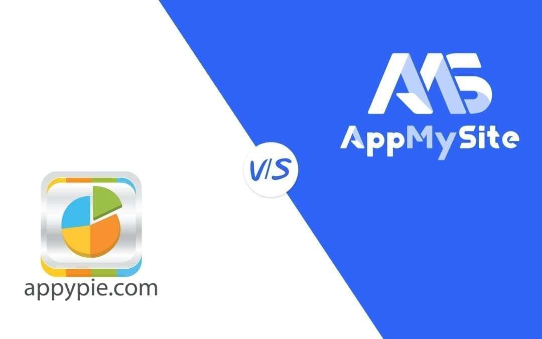 Appy Pie vs. AppMySite – a mobile app builder comparison