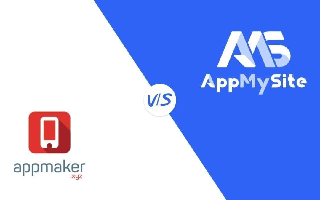 Appmaker vs. AppMySite – a mobile app builder comparison