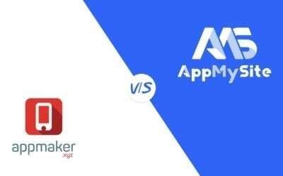 Appmaker vs.AppMySite – a mobile app builder comparison