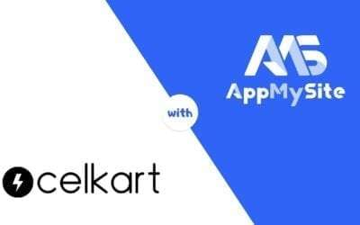 Celkart is selling more with AppMySite WooCommerce Native App
