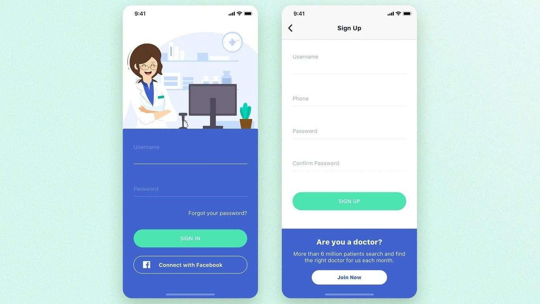 Create pharmacy mobile app
