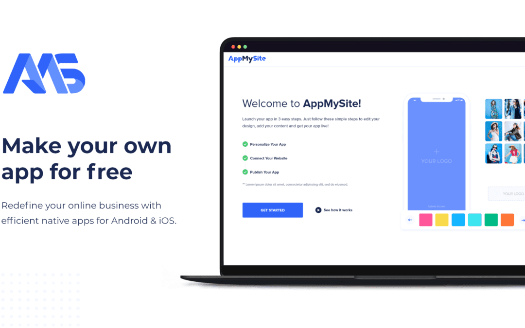 AppMySite launches app builder for CMS pages website