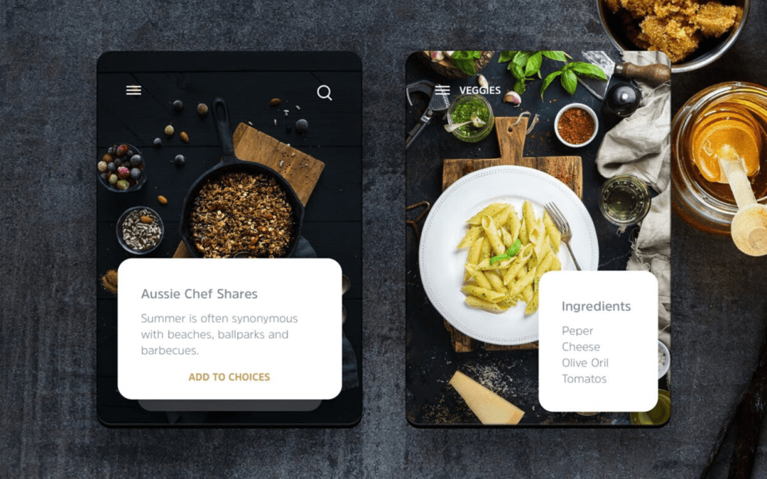 Spice up your food blogging business with a premium WordPress mobile app