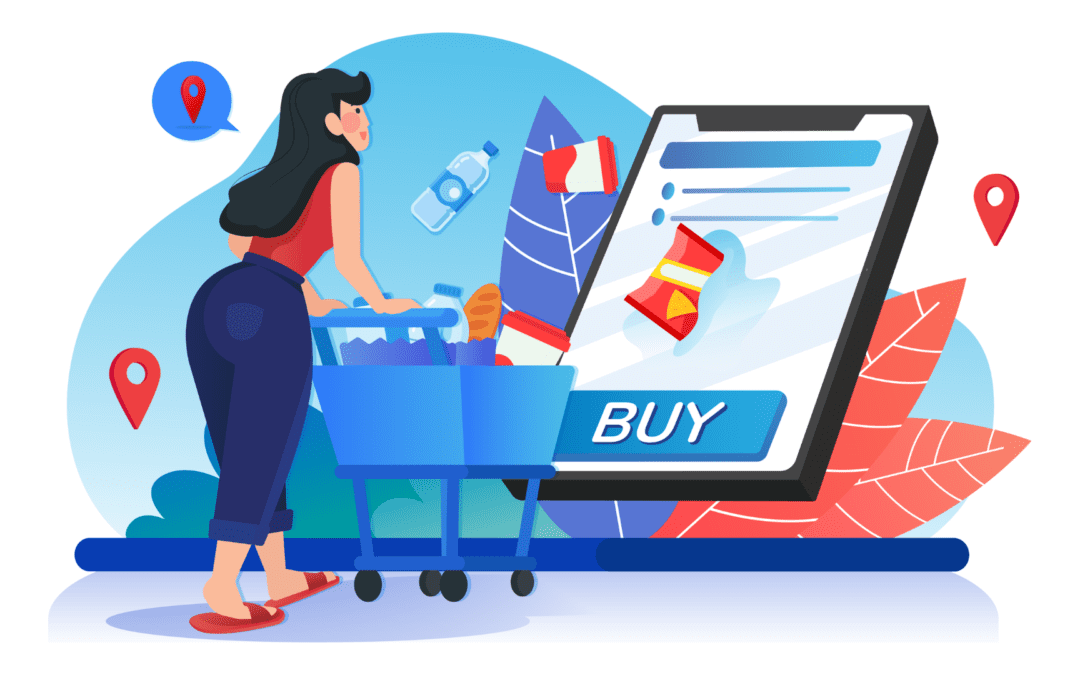 Build a no-contact grocery shopping app and leverage your sales