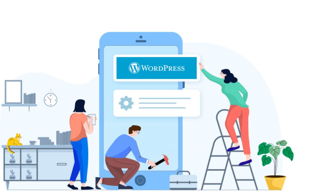 Build WordPress app