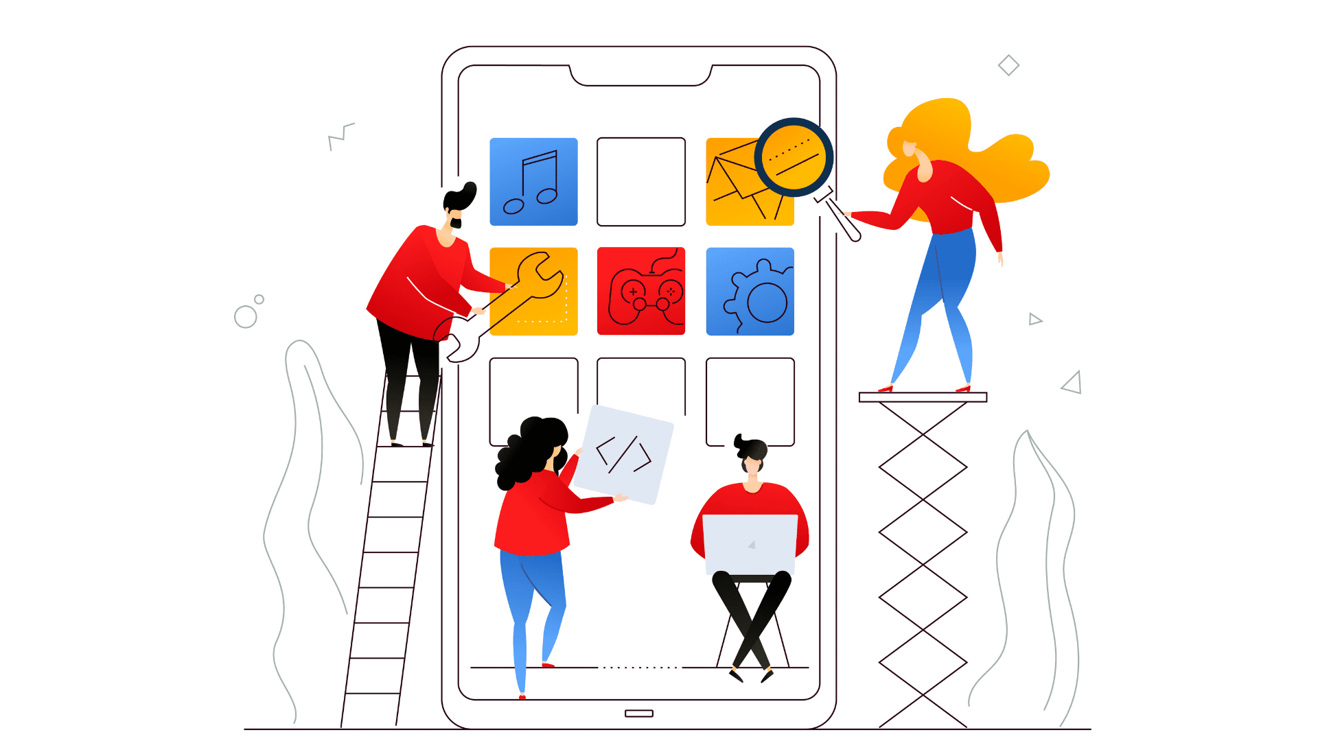Mobile app builder qualities