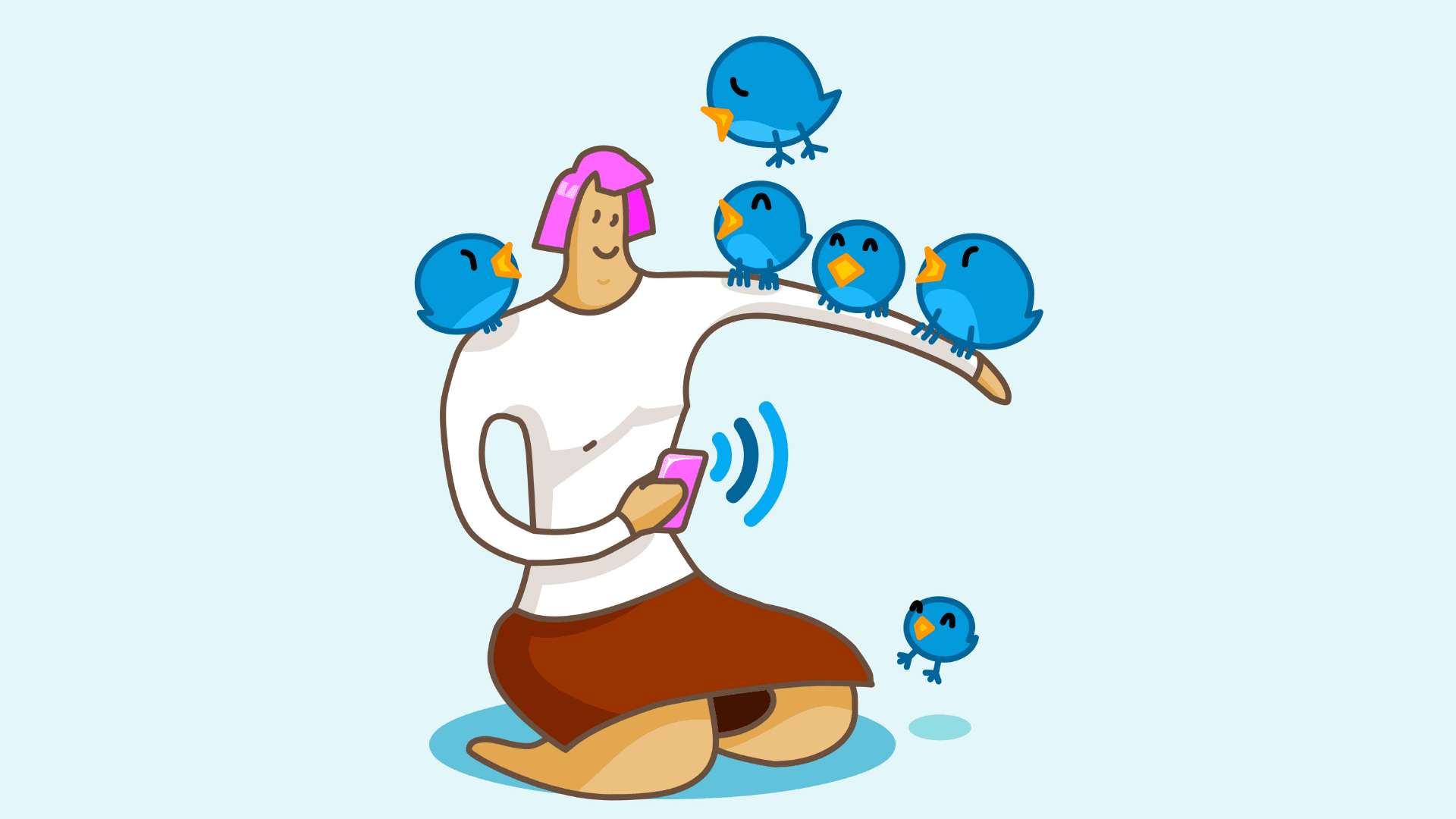 Twitter app promotion and marketing