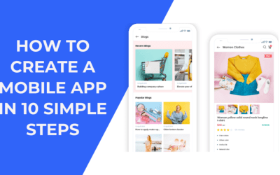 How to create an app in 10 simple steps? Make an app without coding