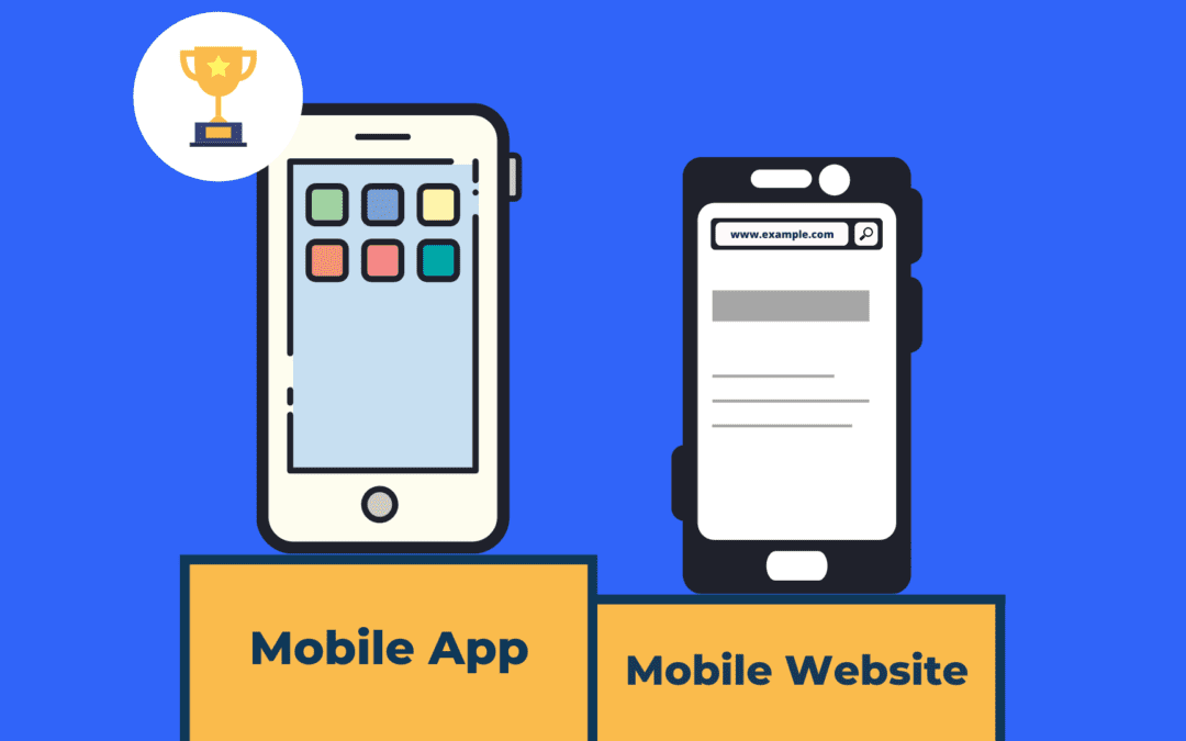 Mobile app vs mobile website – Why are apps ahead of mobile websites on most KPIs?