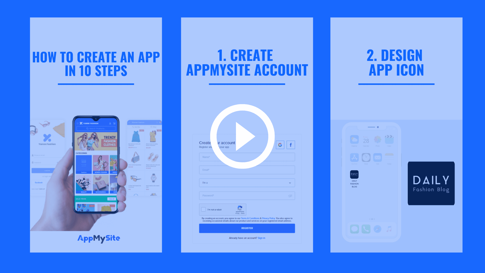 create app in 10 easy steps