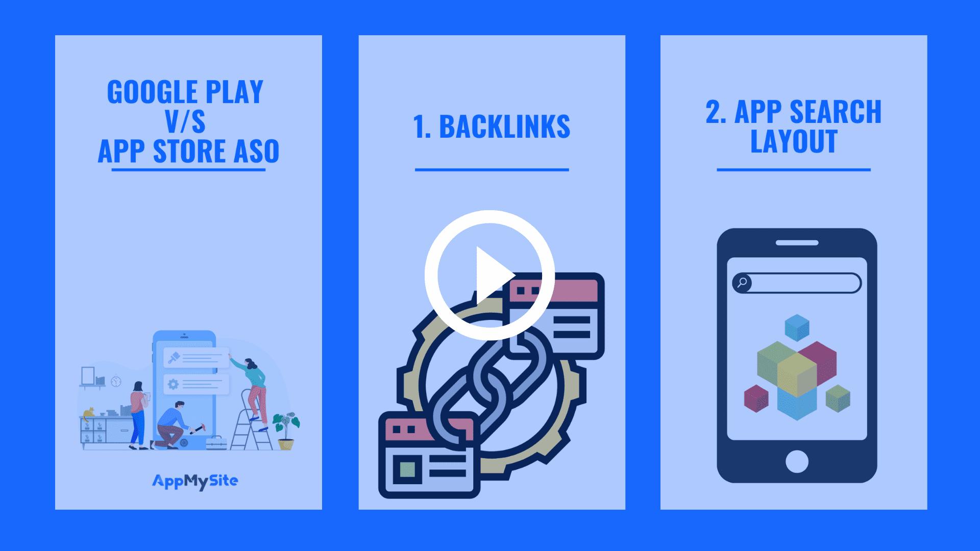Play store v/s app store ASO
