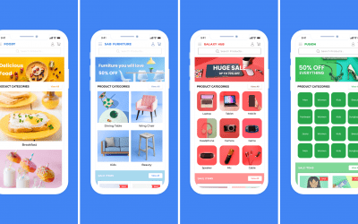How to design the home screen of your WooCommerce app on AppMySite?