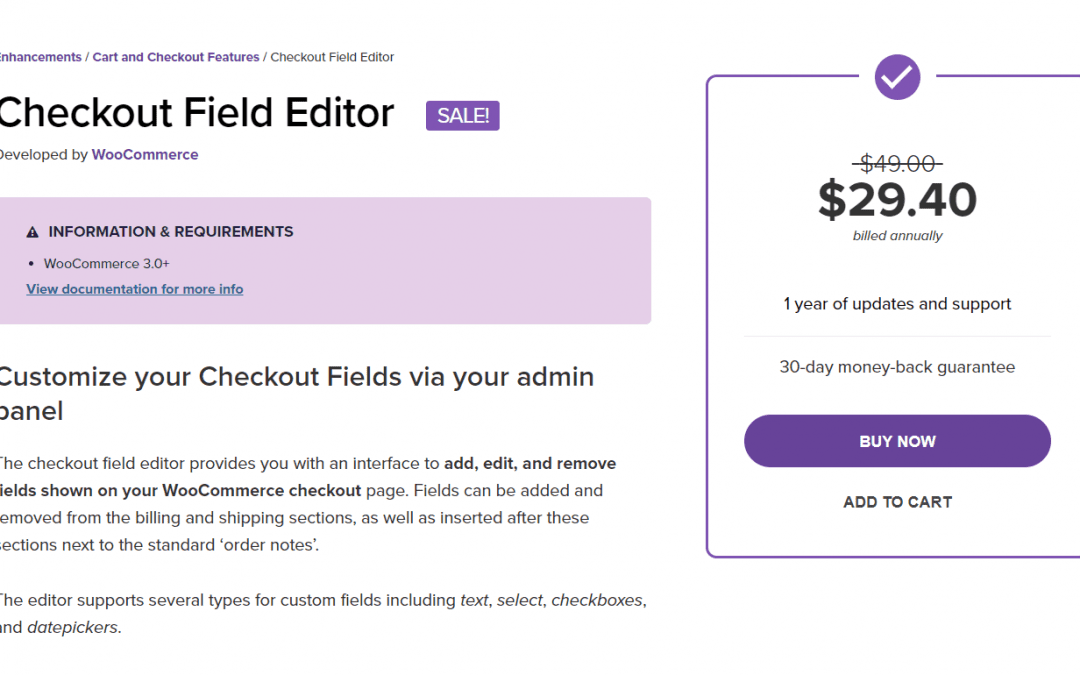 Customize your app checkout with the WooCommerce Checkout Field Editor – A Guide