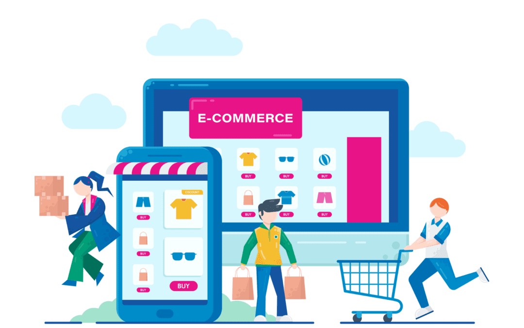 Manage shopping app with website