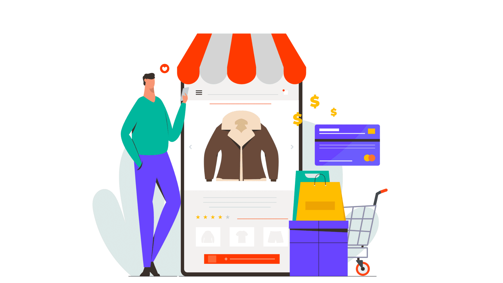Build native shopping app