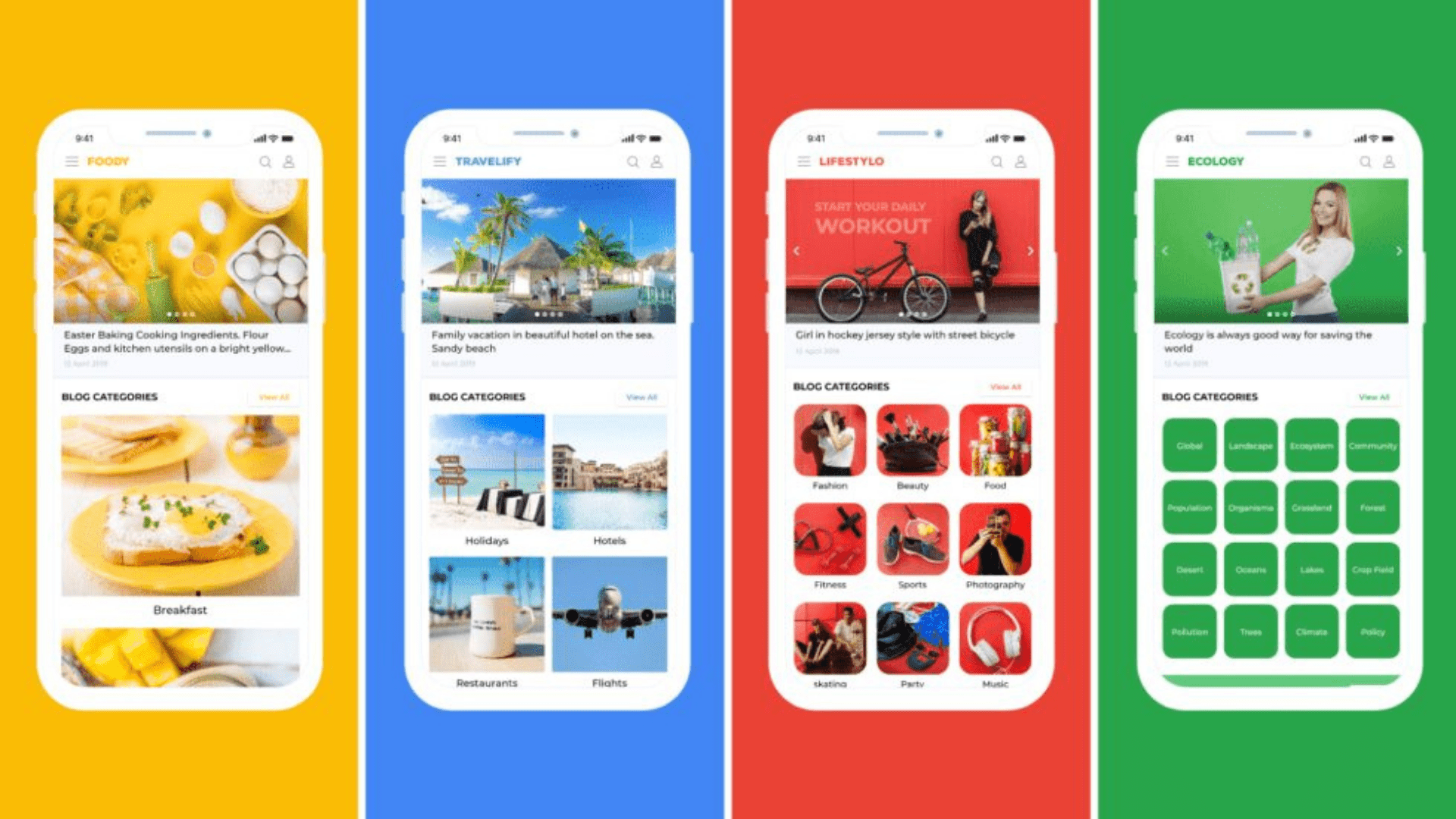 Interactive and dynamic home screen