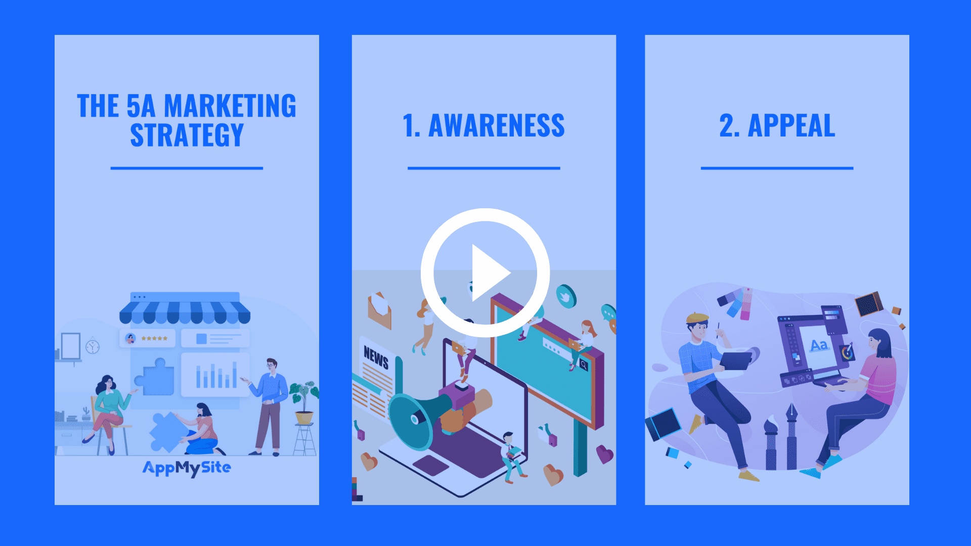 5A marketing strategy
