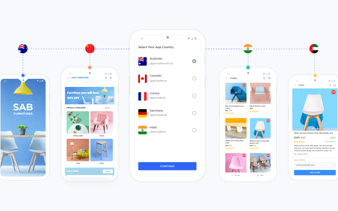 Multisite support add-on is live: Make an app for every country