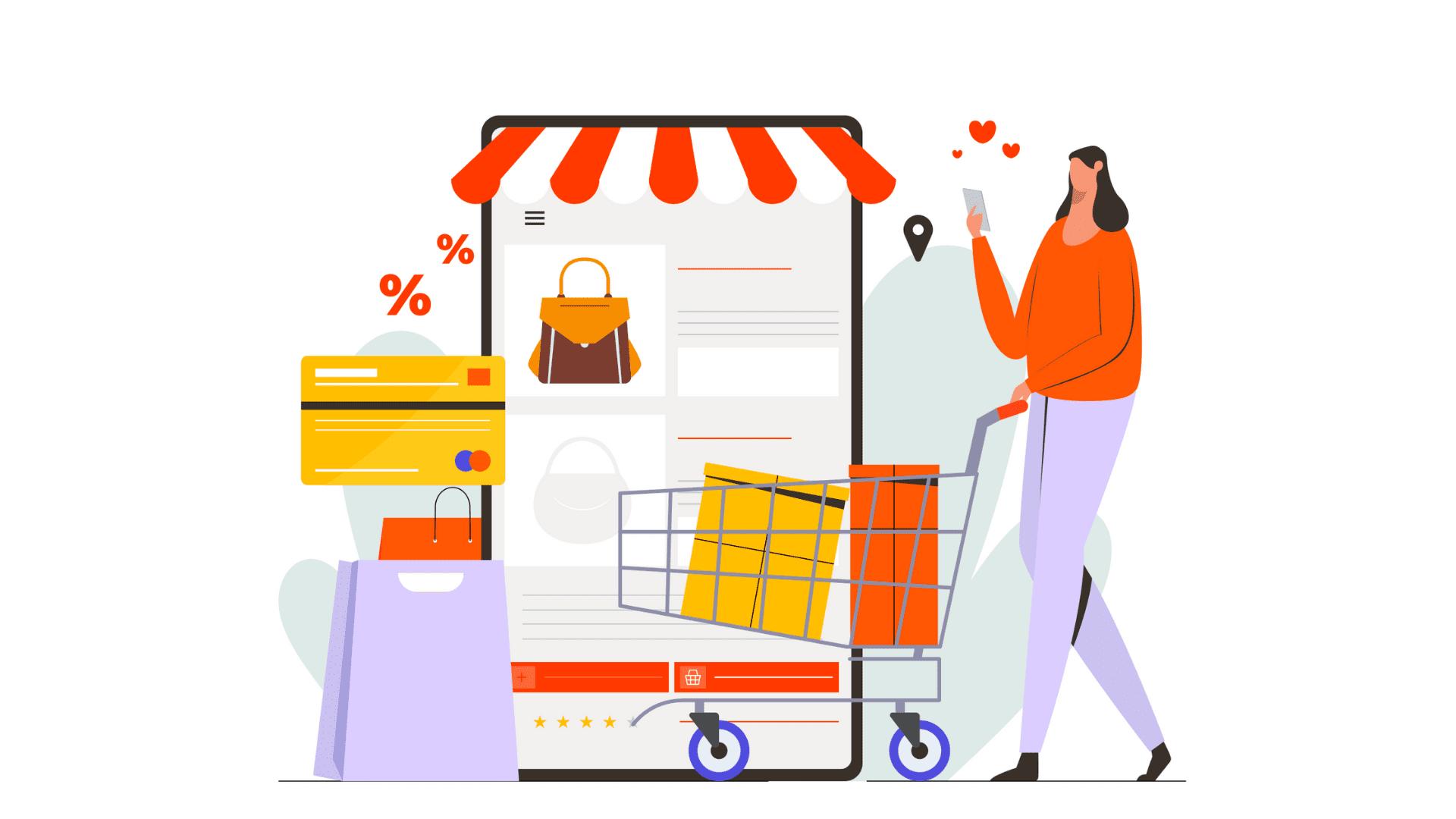 Build shopping app