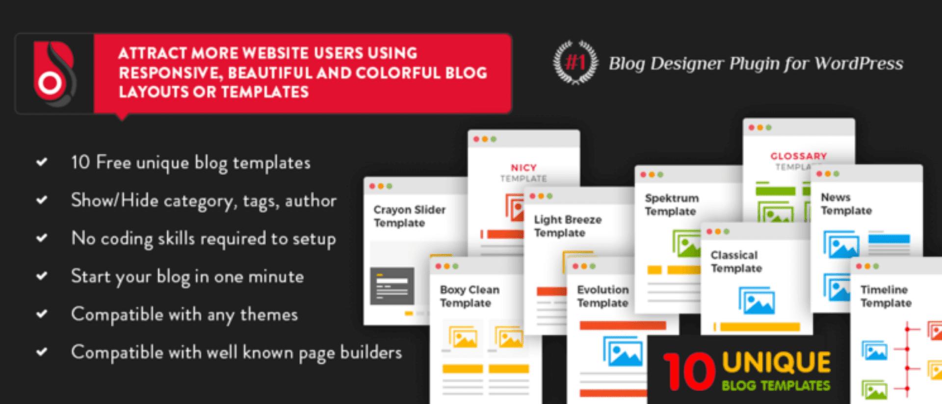 Blog Designer Lite Plugin 1