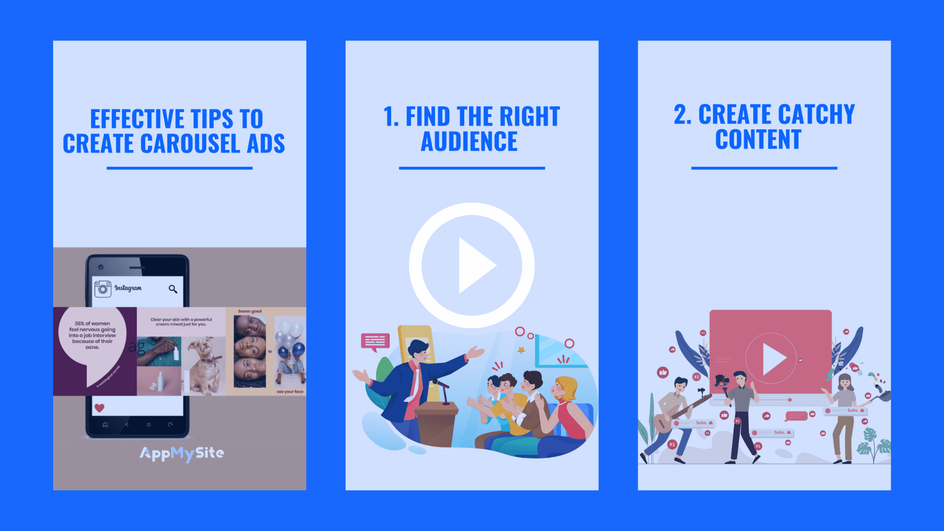 Effective tips to create carousel ads