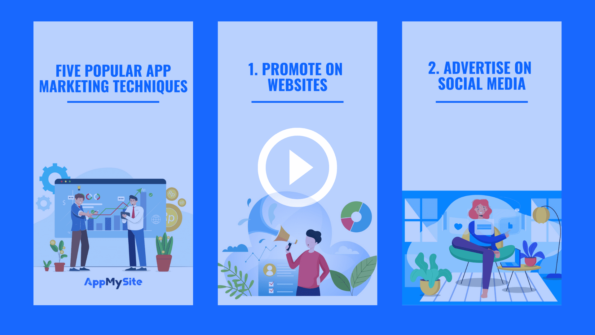 Techniques to promote your app
