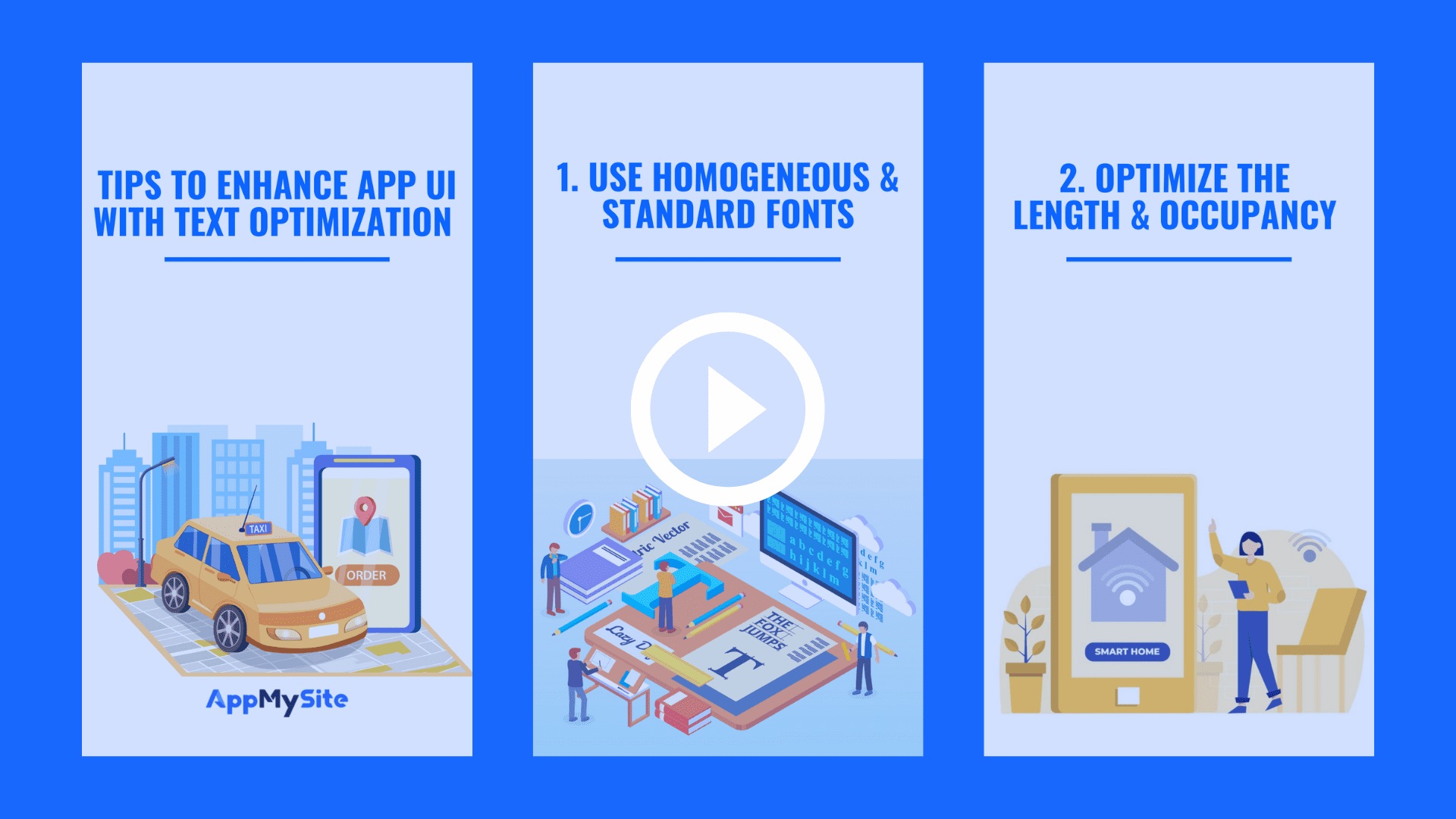 Tips to enhance app UI with text optimization