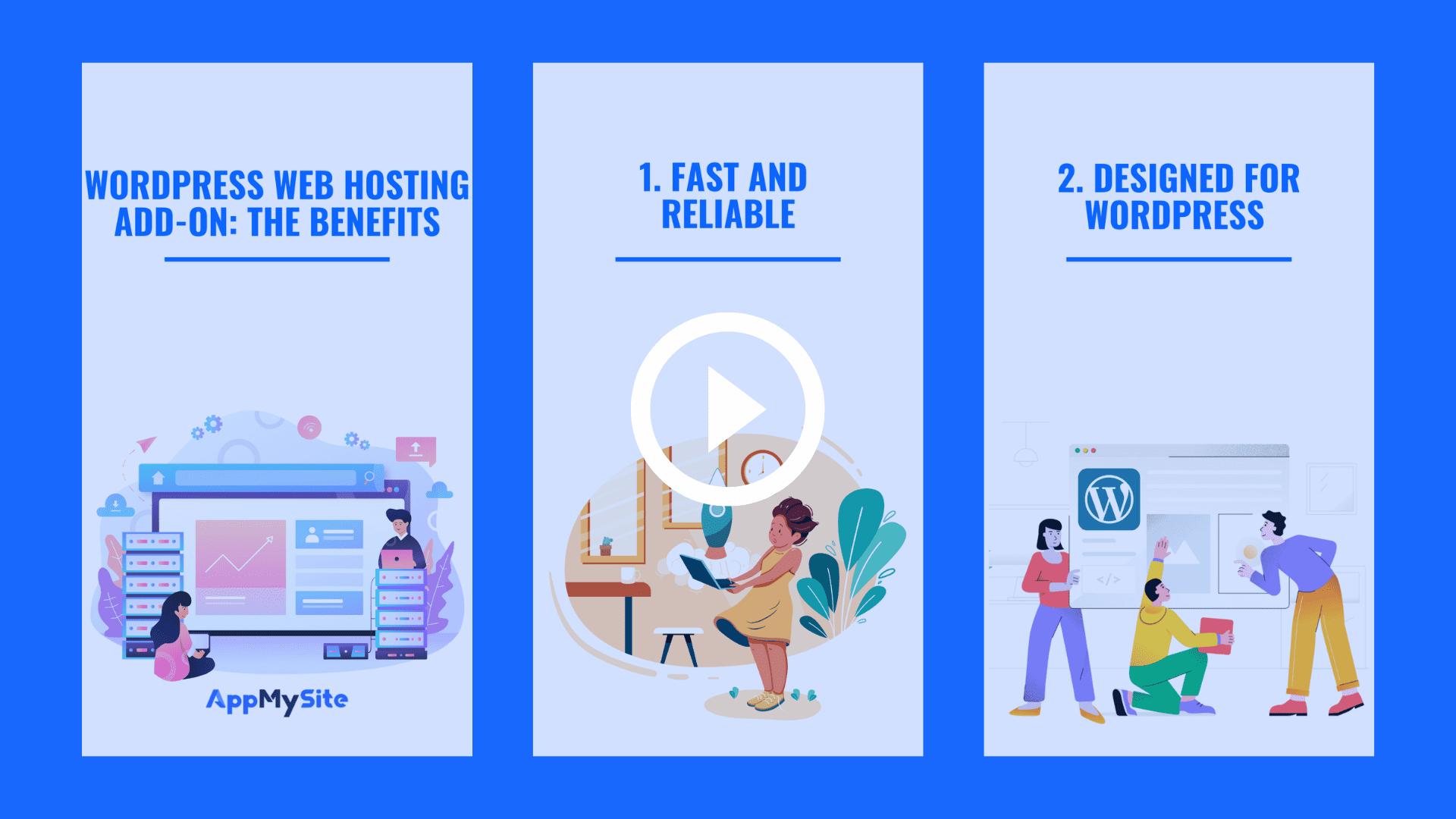Wordpress web hosting add-on