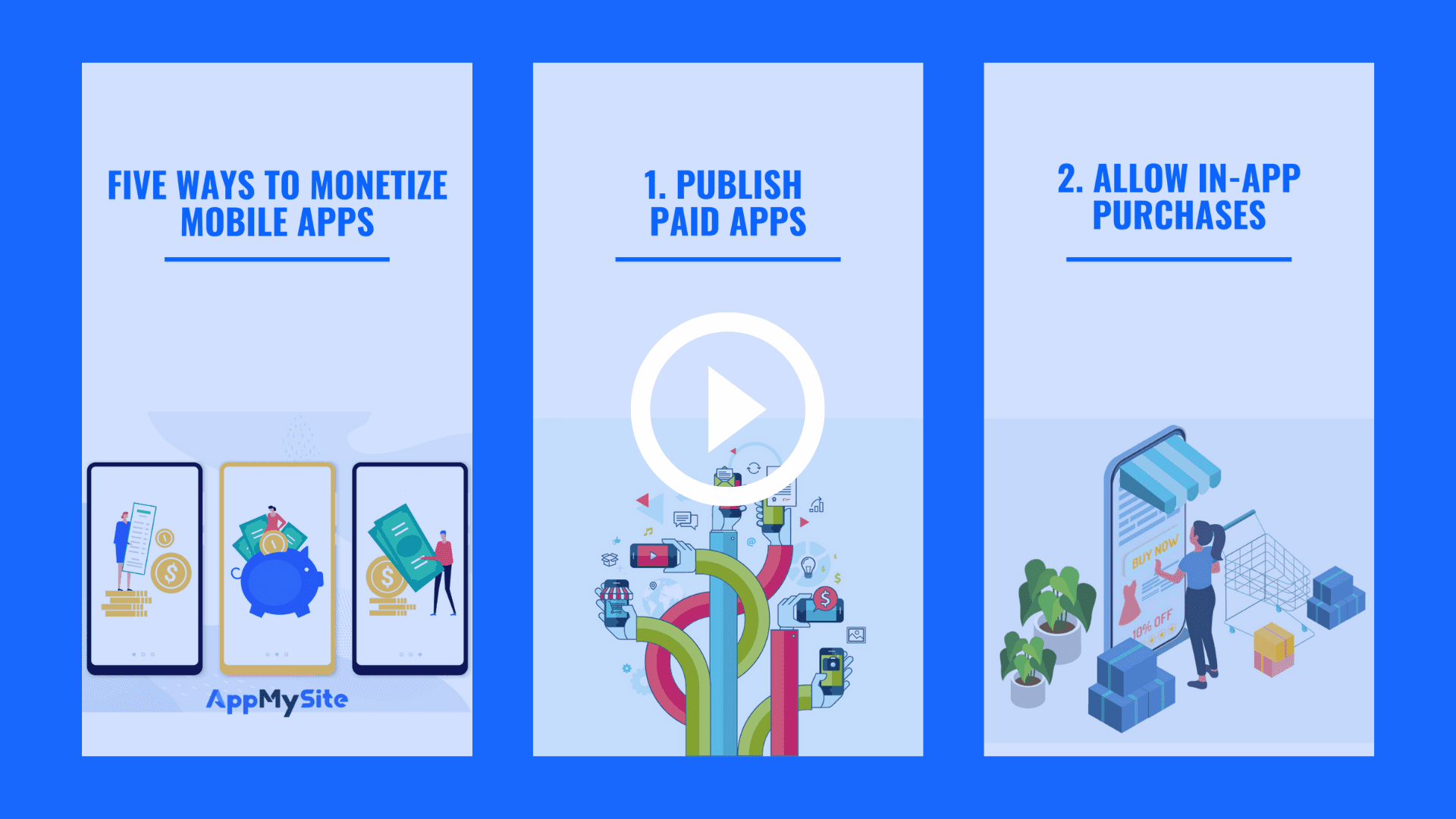 Five ways to monetize mobile apps