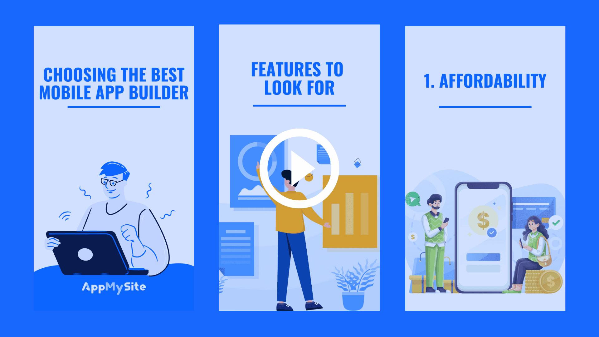 Choosing the best app builder