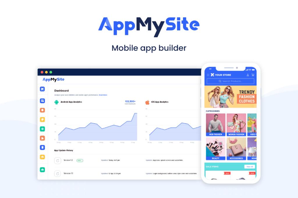 Build an app with AppMySite