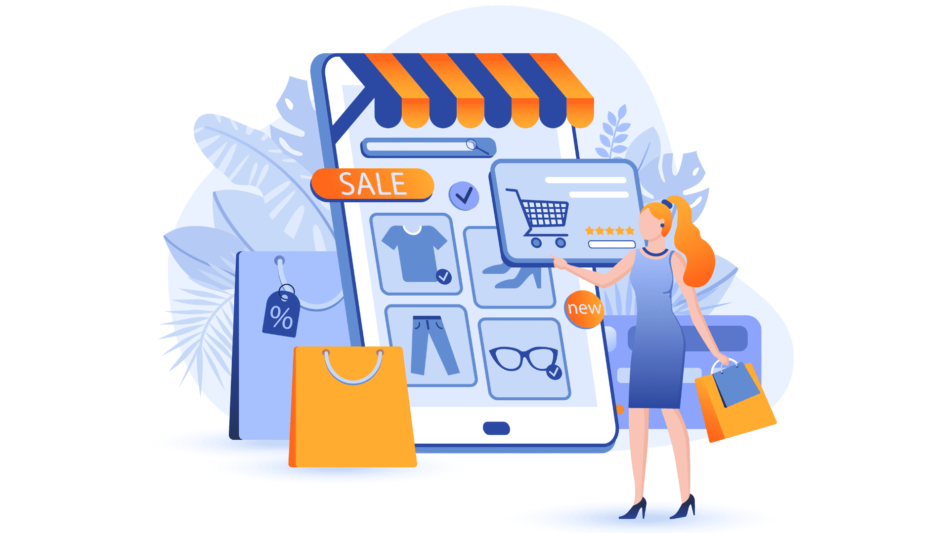 enriched with ecommerce features