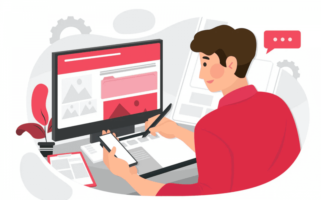 Design website and mobile app