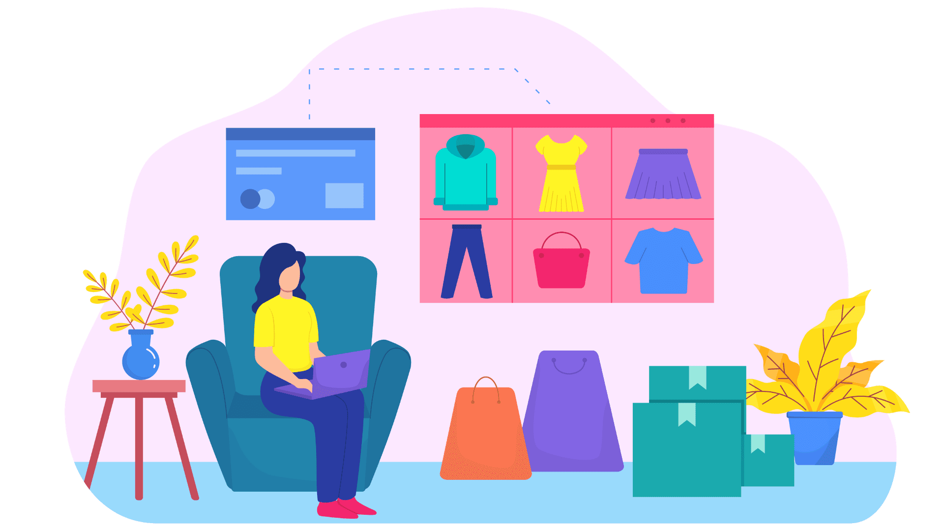 create your shopping app