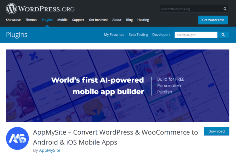 AppMySite launches its WordPress mobile app plugin