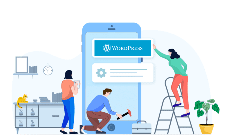 WordPress is only optimal for blogs