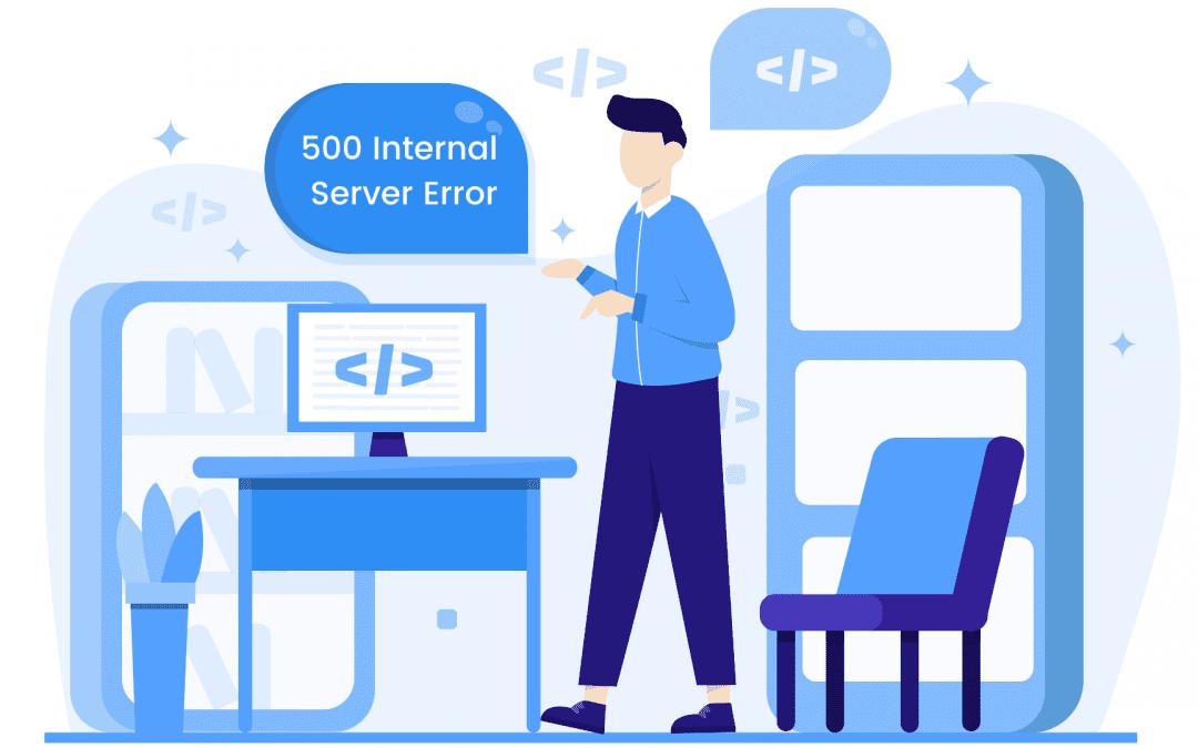 How to fix the internal 500 server error on your WordPress website?