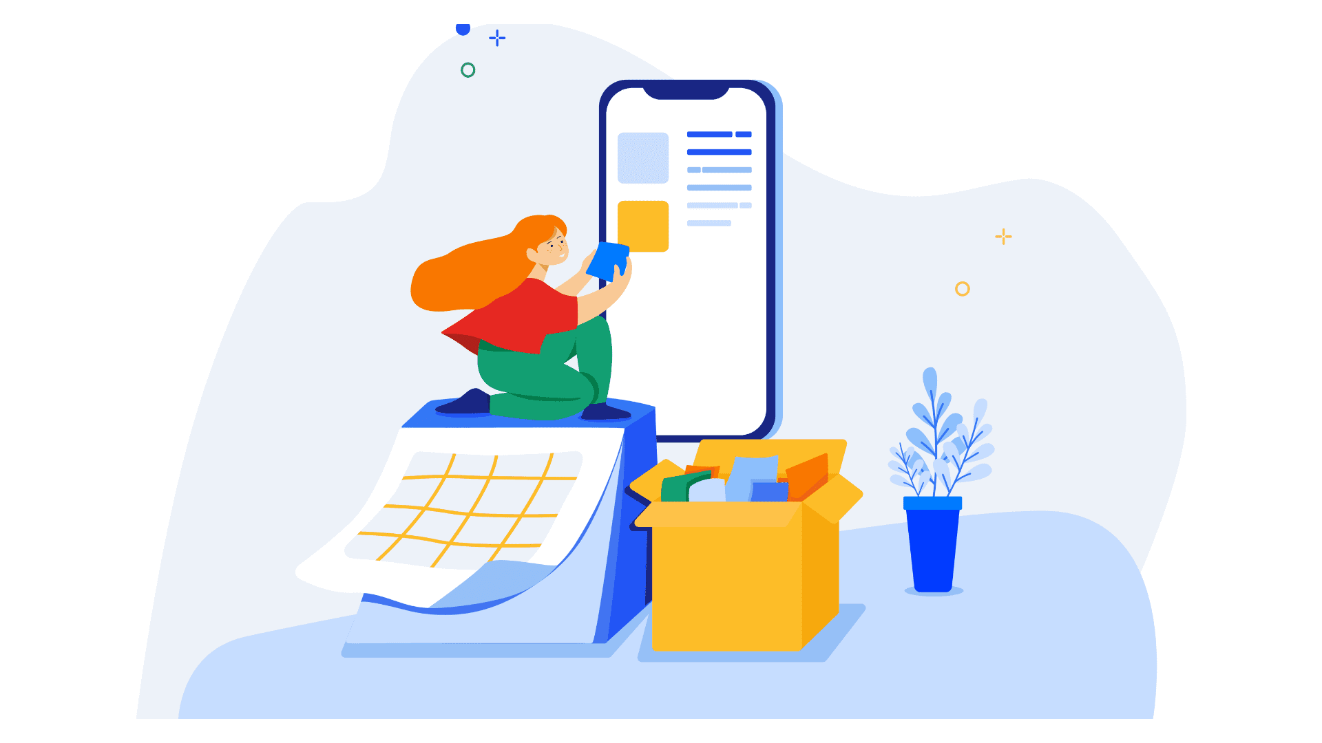 Manage your app's content from your website