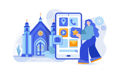 How to make interactive church apps using a WordPress website?